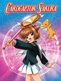 [Card Captor Sakura R1 DVD boxset art]