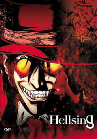 [Hellsing box art, featuring the always charming Alucard]