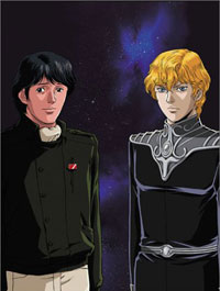 [Legend of the Galactic Heroes box set art]