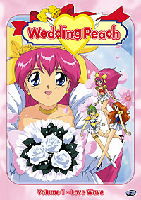 [Wedding Peach R1 DVD box art]
