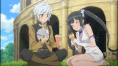 THEM Anime Reviews 4 0 - Is It Wrong to Try to Pick Up Girls in a